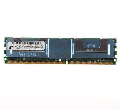 For Micron 8GB 2RX4 PC2-5300F DDR2 667MHZ CL5 ECC Fully Buffered FB-DIMM (667 Mhz Ddr2 Fully Buffered Dimm Ecc)