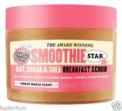 Soap And Glory Smoothie Star The Breakfast Scrub 300ml Oat, Shea Butter & Sugar
