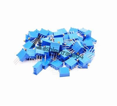 100 - 500k 60pcs 12value 3296 W Potentiometer Variable Resistor Assorted Kit