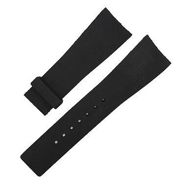 Rubber Black Deployment Watch Strap Band For (Fits) I-Gucci Digital Men's - Digital Rubber Strap Watch