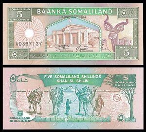 Somaliland-5-SHILLINGS-1994-P-1-UNC