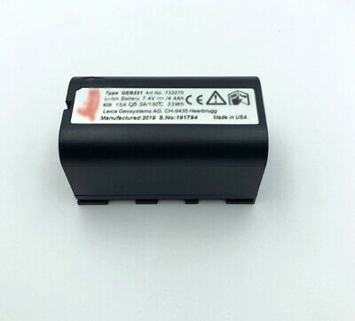 New Geb221 Li Ion Battery For Leica Ts02 Ts06 Ts09 Tps1200 Total Stations Gps