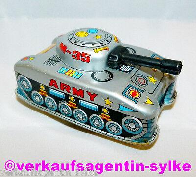 Blech Spielzeug Panzer, Blechspielzeug 70-80er Jahre zum Aufdrehen von Hefo Toy