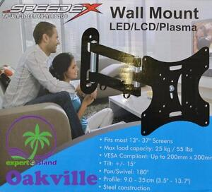 SPEEDEX MA3260 Full Motion Articulating Tiltable Wall Mount for 17-37inch LCD/LED TV and Monitors
