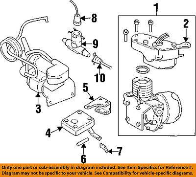 Cadillac GM OEM 97-01 Catera Rear Ride Control-Sensor 22175670