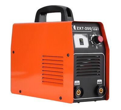 Portable Zx7-200 Igbt Dc Inverter Welder Small Household Welding Machine 220v