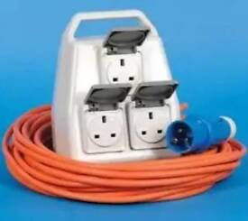 Delta Mobile Mains Supply Unit - Camping electric hook up