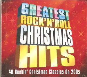 GREATEST ROCK N ROLL CHRISTMAS HITS - 2 CD BOX SET