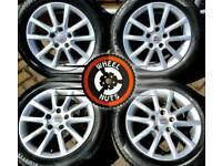 "16"" 17"" VW Caddy alloys with good tyres."