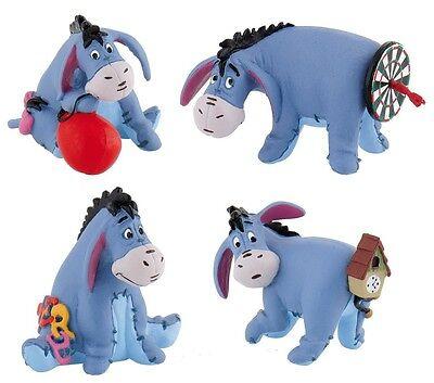 Disney Winnie Pooh Esel I-aah Figur Bullyland 4 Sammelfiguren Geschenkbox 12281