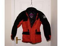 Scott motorcycle jacket medium size