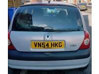 Renault Clio 05reg hpi clear 60k tax tested 2keys 5door