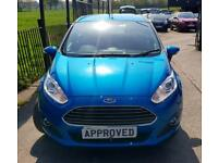 FORD FIESTA 1.6 ZETEC 5d AUTO 104 BHP Apply for finance Online today! (blue) 2013