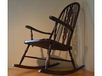 Vintage Oak Rocking chair