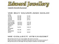 JEWELLERY WANTED FOR CASH! BEST PRICES AROUND.