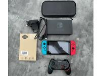 Nintendo Switch Version 2 (extended battery) bundle