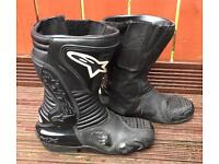 Alpinestars Motorbike Boots, Gortex Racing Boots.