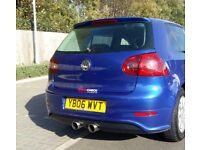Vw golf blue R32 gt tdi 2006