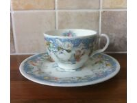 Royal Doulton The Snowman collection cup & saucer