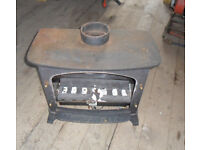 Yeoman Excel CPD GAS fired Stove - Woodburner - Wood / log burner type - coal effect