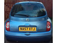 Nissan Micra 2007 Blue Immaculate Condition £1450 Drive like new