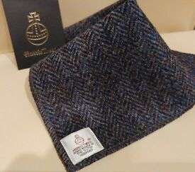 Harris Tweed Pocket Squares / Handkerchiefs. Wedding / Brirthday / Suit / Dress/ Groom / Mens gift
