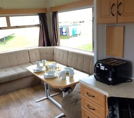 Cheap Starter Static Caravan 4 Sale @ Sandy Bay Holiday Park, 2017 Site Fees FREE, Buy Now Pay Later