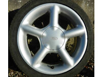 Qty 4 Ford 16 inch Ronal Alloys (like Cosworth) for sale