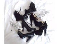 Womens Shoes platform Wedge Heel TopShop Kurt Geiger River Island Size 4 Most NEW
