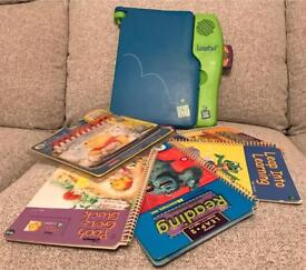 LeapPad Learning System - With selection of books