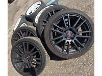 Subaru Impreza Sti Enkei 5x114 alloy wheels