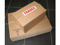 Strong Card Postage Boxes (x10) - 30cm x 19.5cm x 16cm -NEW!