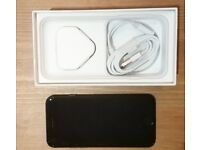 APPLE IPHONE 7 128GB BLACK (UNLOCK), Grade A condition with box and accessories