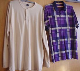 2 Gents XL Cotton Traders polo shirts