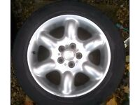 Land Rover Freelander 1 - 17 inch alloy wheel (1998-2006)