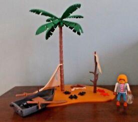 Playmobil DESERT ISLAND CASTAWAY