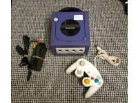 Nintendo Gamecube Console, Indigo