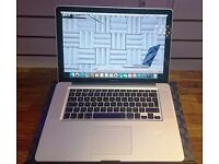 "Apple MacBook Pro 15"" - El Capitan - i7 Processor - 8GB RAM"