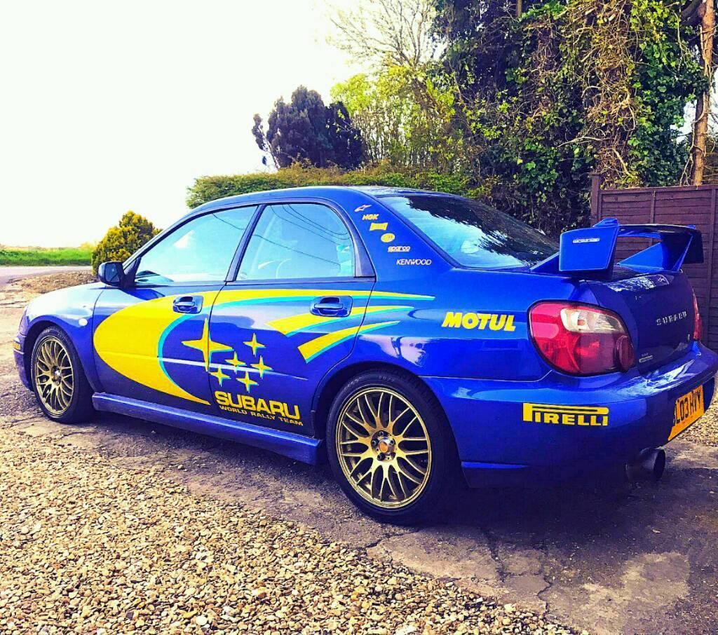 Subaru Impreza 2.0l Modified Gx Sport