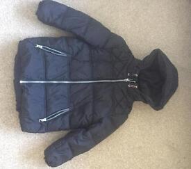 Winter puffa coat aged 6-7 boys