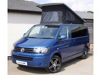 VW T5 Denby Balmoral 4-berth Camper - Air Conditioning, Olympia Blue, Low Mileage, Remapped