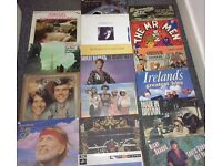 x18 Assorted Vinyl Records