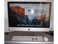 REDUCED – Apple iMac 27 Inch - Intel Core i7 – 2.93 GHz - 16GB Ram - 1TB HD