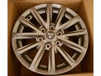 "2016 Genuine Mitsubishi L200 Triton Barbarian Warrior Series 5 17"" Alloy Wheels"