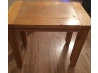 Oak side table shabby chic project