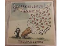Wedding music CD- Cannon in D PACHELBEL's Greatest Hits