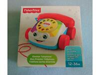 Baby telephone toy Fisher price