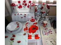 POPPY CROCKERY & BITS
