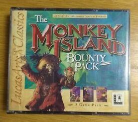 Monkey Island Bounty Pack - PC CD-ROM