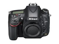 NIKON D610 FULL FRAME CAMERA ONLY 1700 ACCUTATIONS